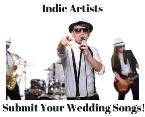 indie wedding artists songs