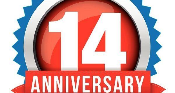 14th anniversary