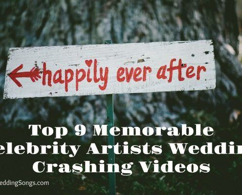 celebrity artists wedding crashing videos
