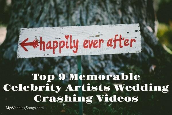 celebrity artists wedding crashing videos