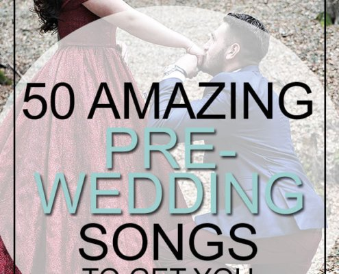 pre-wedding songs engagement period