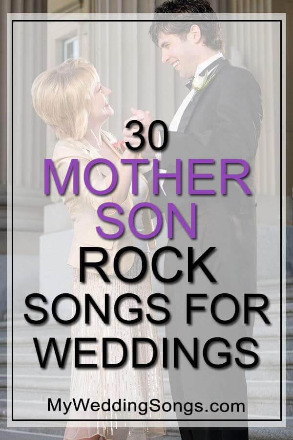 mother son rock songs for weddings