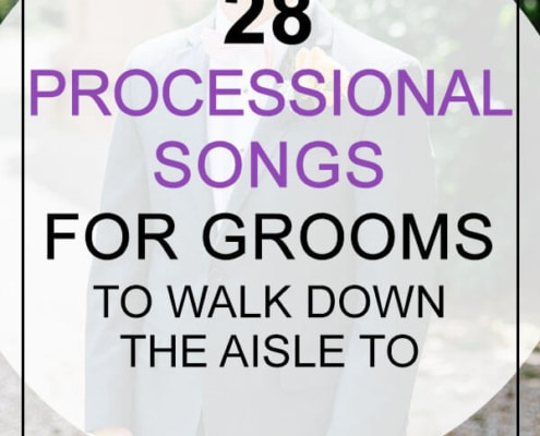 groom processional songs