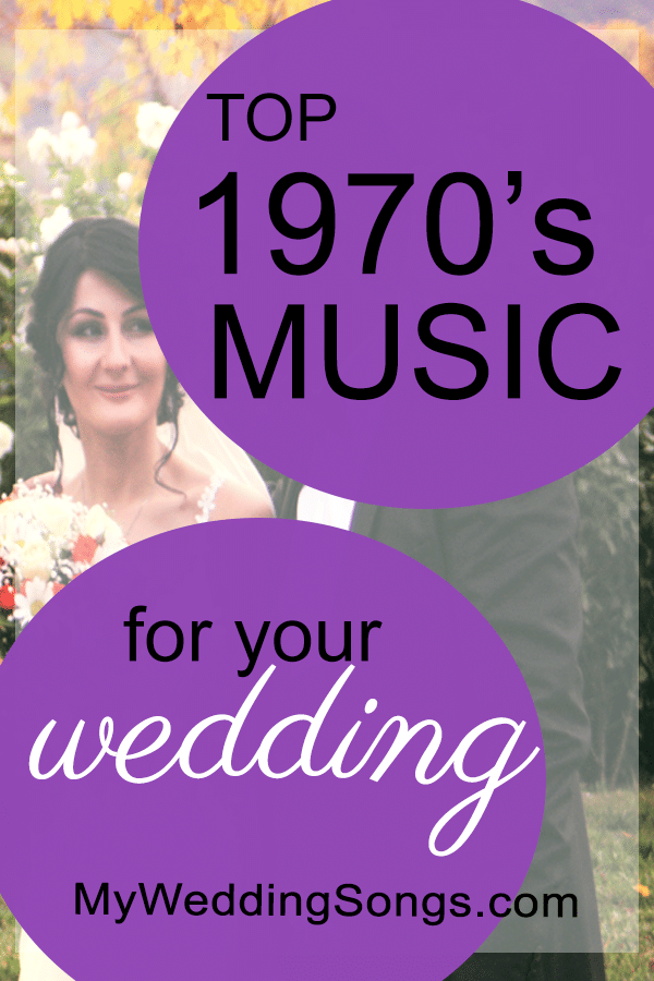 best 1970s music for weddings