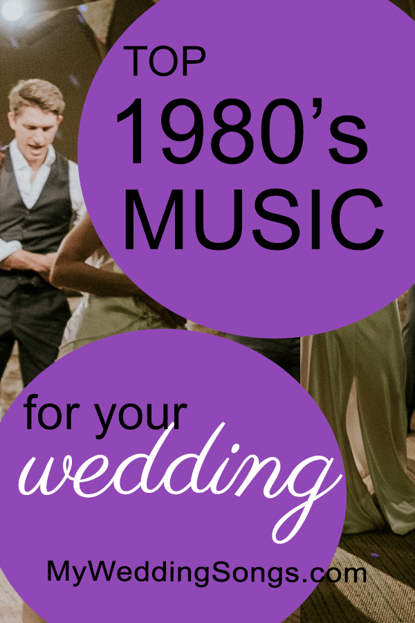 best 1980s music for weddings