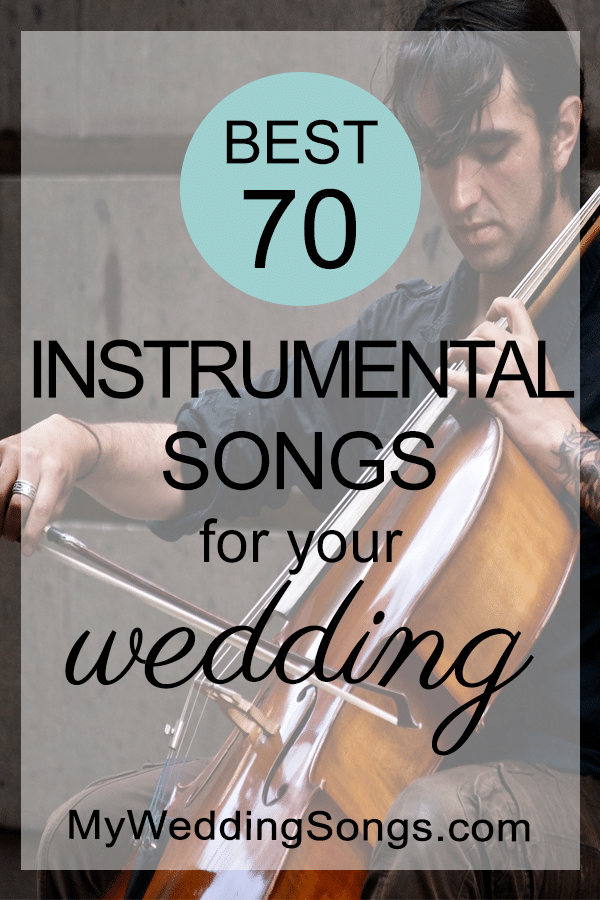 best instrumental songs for weddings