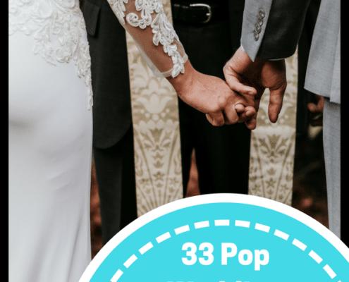 pop wedding ceremony songs