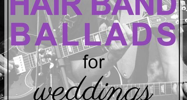 hair band ballads