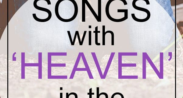 heaven songs in the title