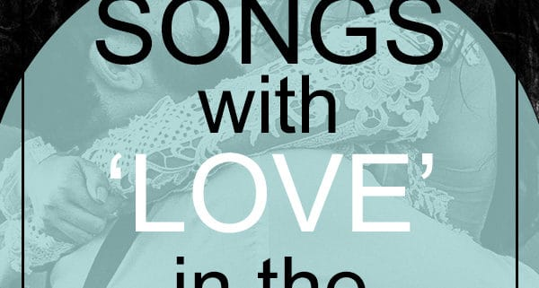 love songs in the title