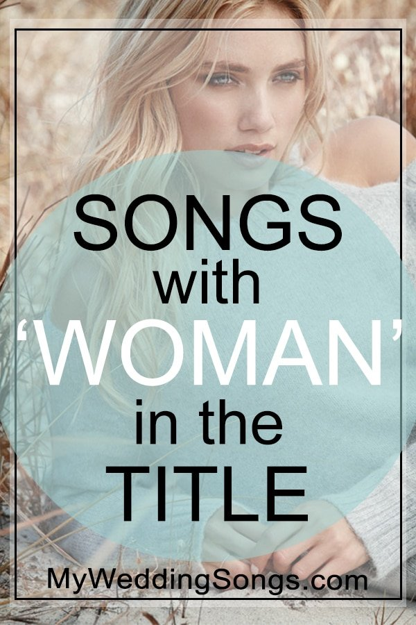 songs with woman in the title