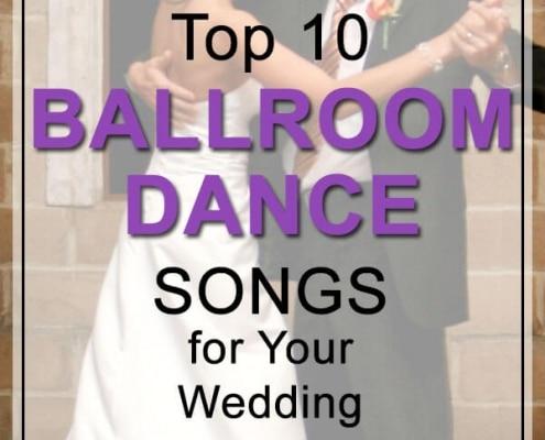 top ballroom dance songs for weddings