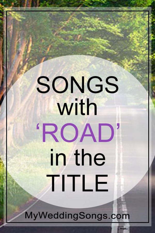 road songs in the title