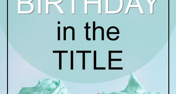 Songs with Birthday in the title