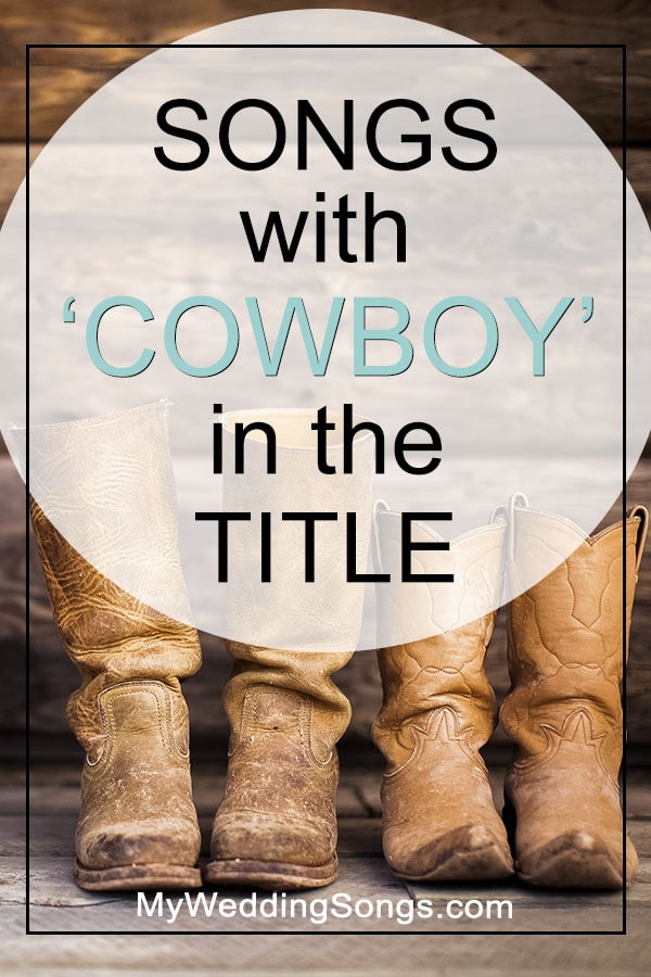 Cowboy Songs in the title