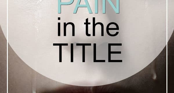 Pain songs in the title
