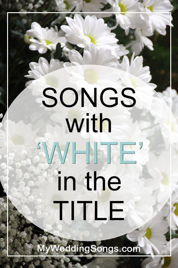 White Songs in the title