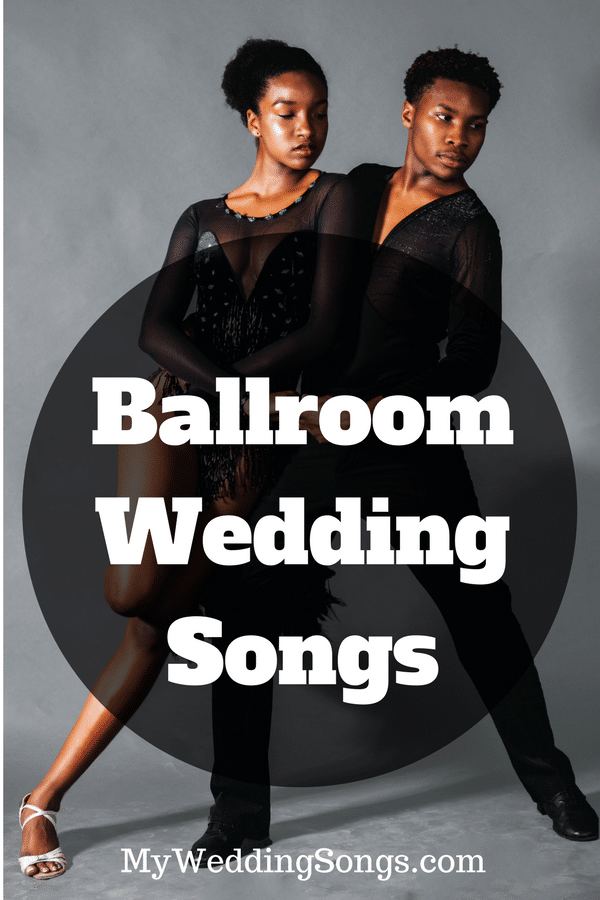 ballroom dance wedding songs