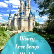 disney love songs for weddings