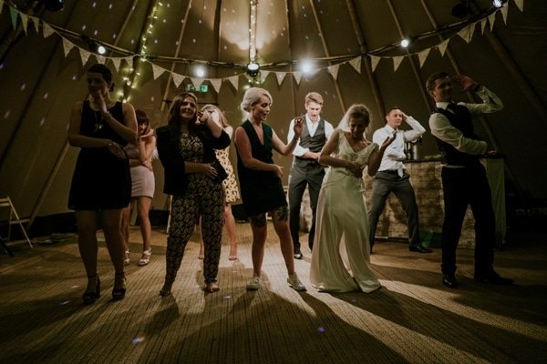 funky wedding song story