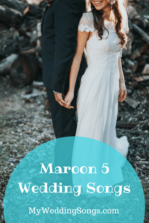 maroon 5 wedding songs