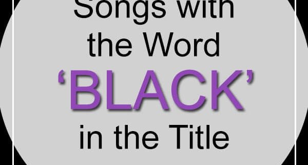 songs with black in title