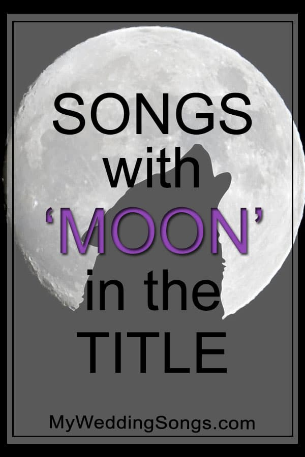 Best Moon Songs in Title