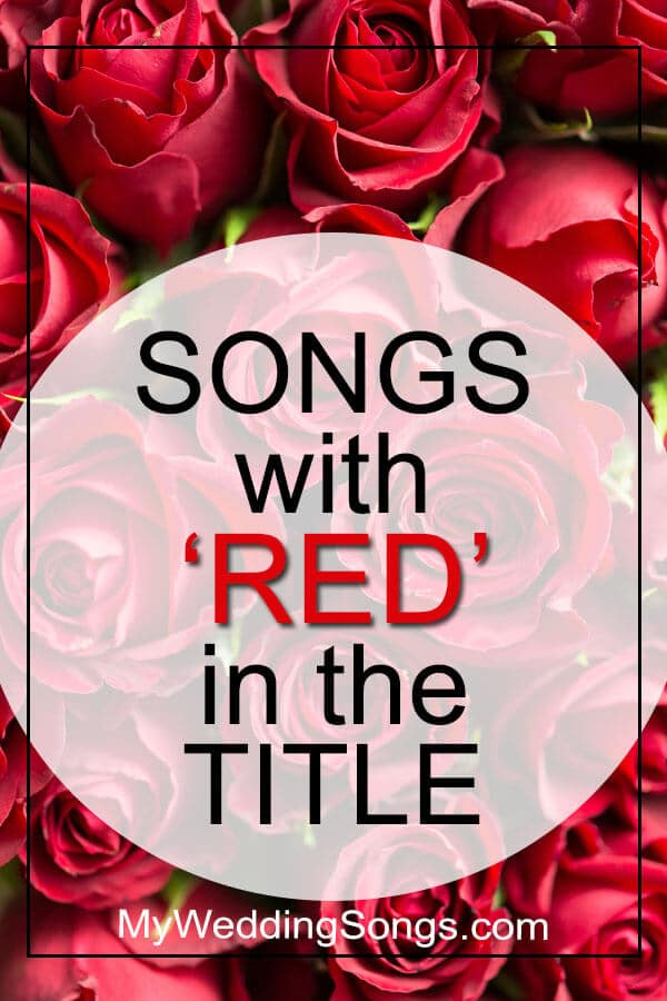 Best Red Songs in Title