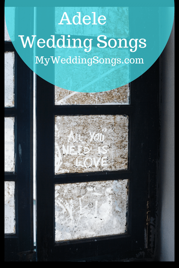 Adele wedding songs