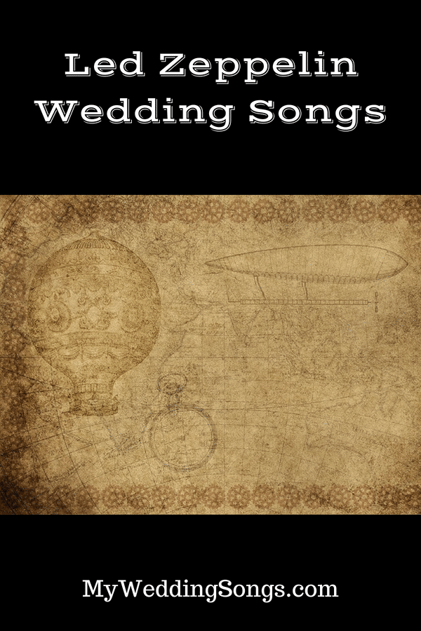 led zeppelin wedding songs