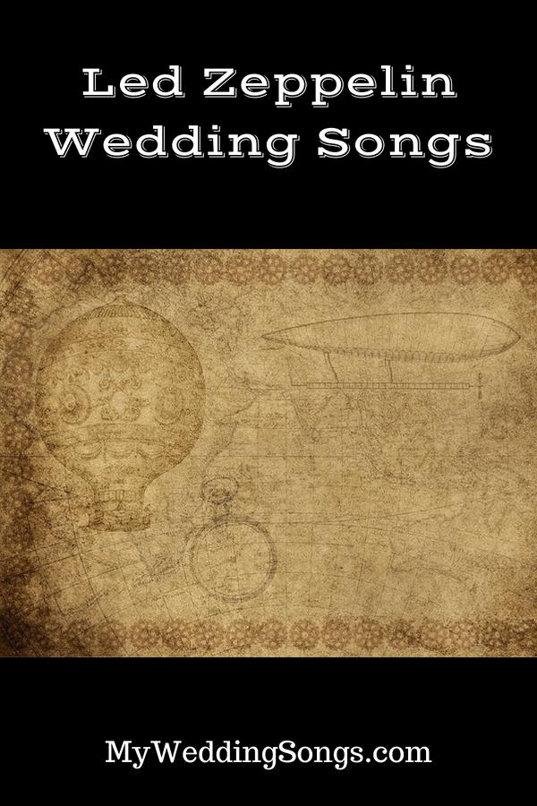 led zeppelin wedding songs