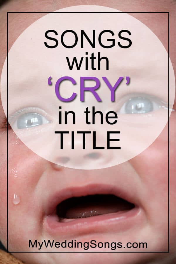 songs with cry in the title