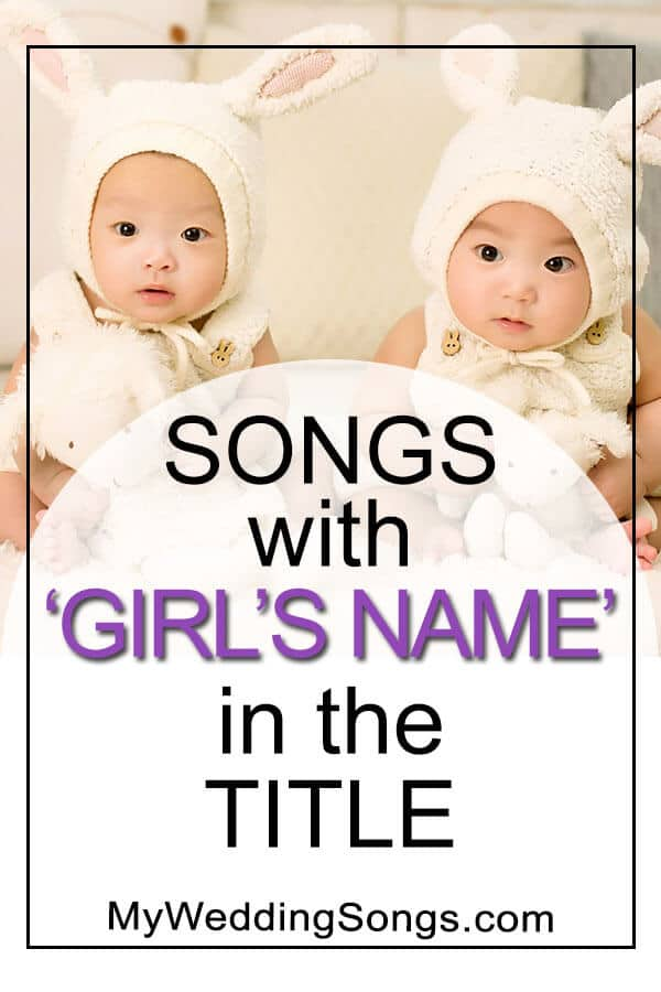 songs with girls names in the title
