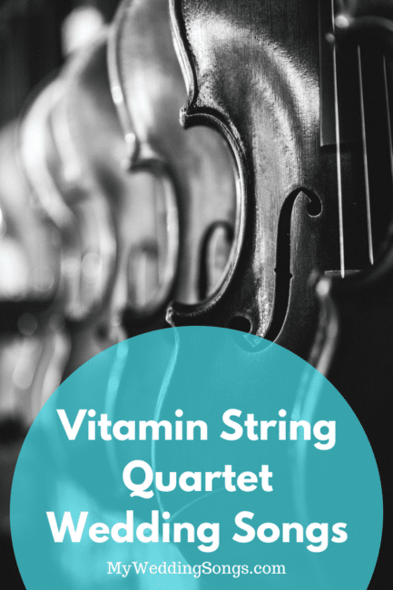 Vitamin String Quartet Wedding Songs Instrumental Favorites My
