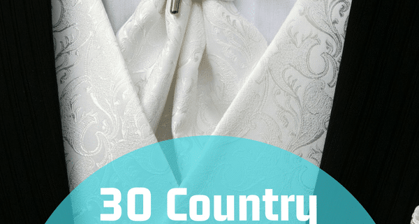 30 Country Mother Son Dance Songs For Your Wedding | My Wedding Songs