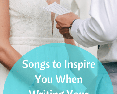songs to inspire wedding vows