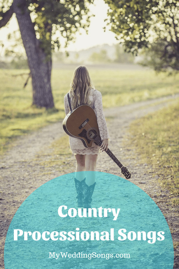 country processional songs