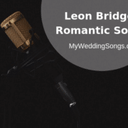 5 Leon Bridges Romantic Songs Perfect For Your Wedding