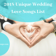 Unique 2018 Love Songs List In Review