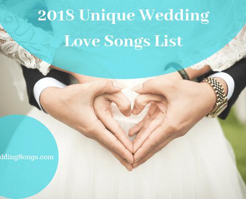 unique 2018 love songs list