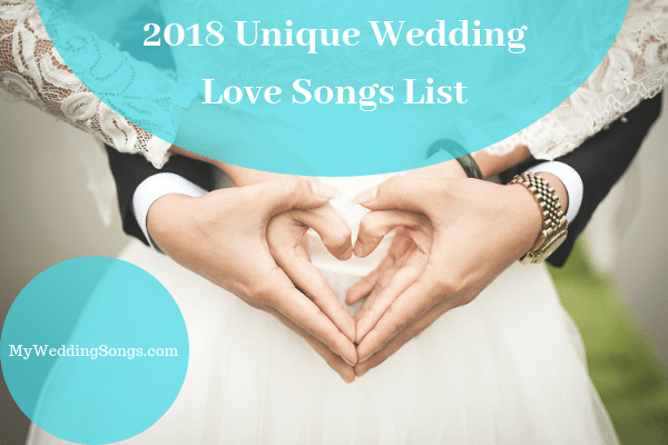 unique 2018 love songs list