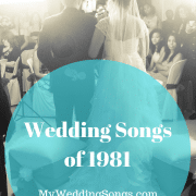 Best Wedding Songs of 1981 Because You Make My Dreams Come True