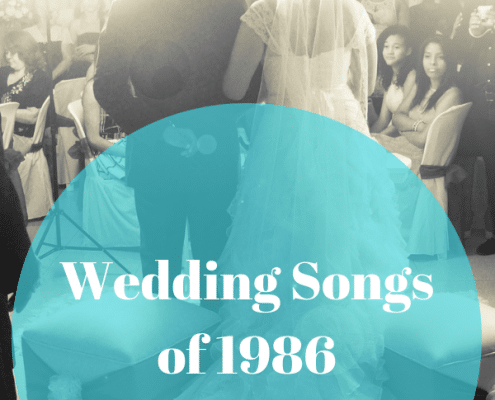 wedding songs of 1986