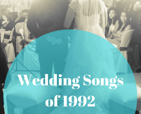 1992 Wedding Songs
