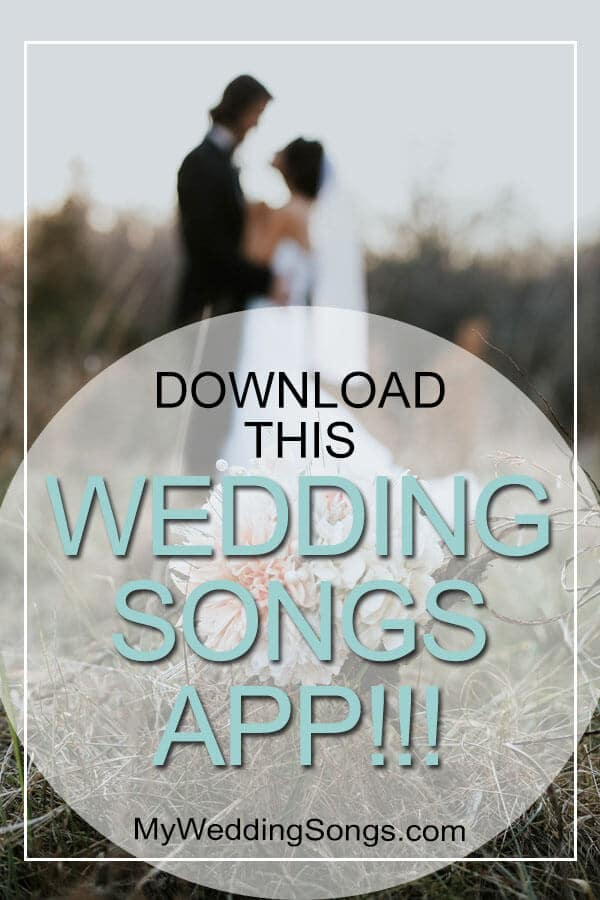 download wedding songs app
