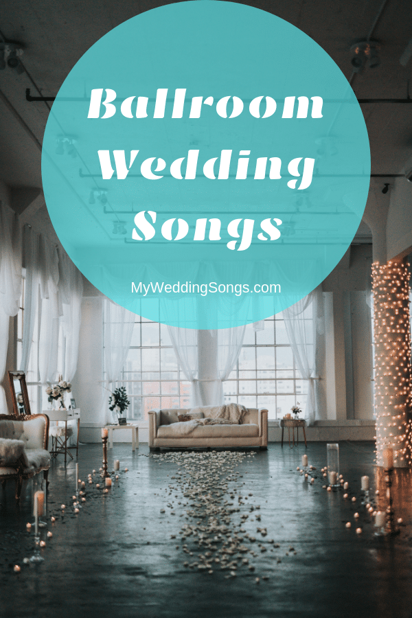 ballroom dance wedding songs