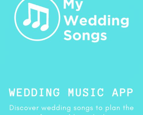 wedding music app