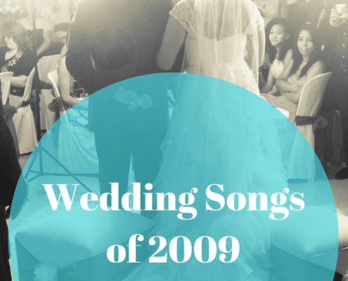 2009 wedding songs
