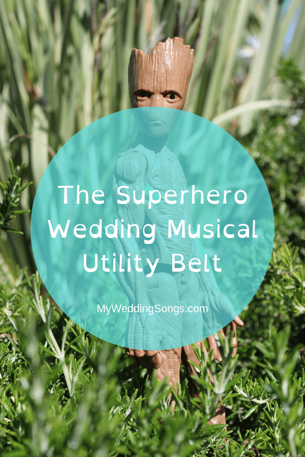 Superhero wedding musical songs