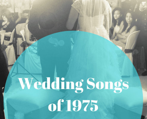 1975 Wedding Songs